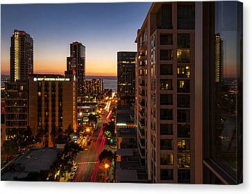 Sundown On So-cal Canvas Print by Anthony Citro