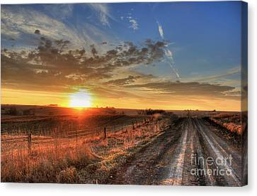 Sundown Canvas Print by Thomas Danilovich