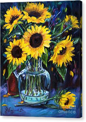 Sunflower Bouquet  Canvas Print