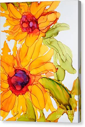 Sunflower Duo Canvas Print