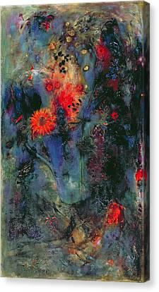 Sunflower Canvas Print by Jane Deakin