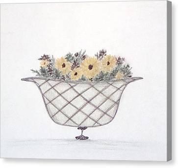 Sunflowers Canvas Print by Christine Corretti