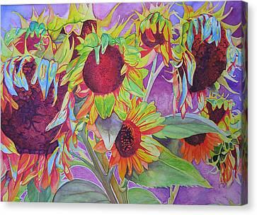 Sunflowers Canvas Print by Joshua Morton