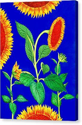 Sunflowers Canvas Print by Irina Sztukowski