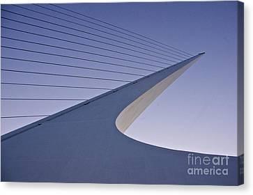 Island Stays Canvas Print - Sundial Bridge by Sean Griffin