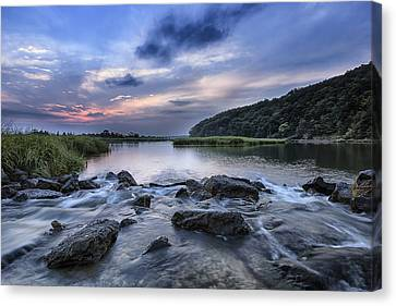 Sunken Meadow Morning Canvas Print