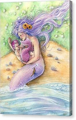 Sunkissed - Pink Canvas Print by Sara Burrier