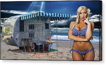 Sunkissed Canvas Print by Steven Vickers