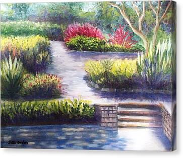 Sunlit Paths Canvas Print