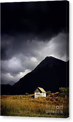 Abandoned Shack Canvas Print by Craig B