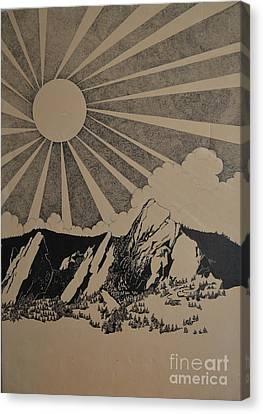Sunny 300 Days A Year Canvas Print by Stuart Engel