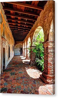 Sunny California Arches 4 Canvas Print