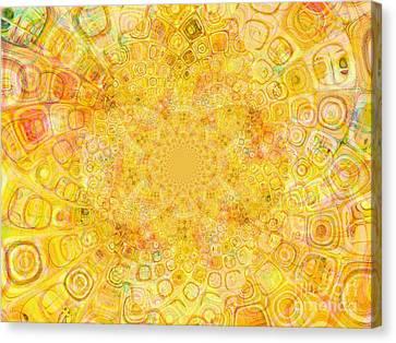 Sunny Center Canvas Print by Dana Hermanova