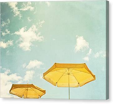 Sunny Day Canvas Print by Carolyn Cochrane