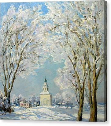 Sunny Day Canvas Print by Valery Kosorukov