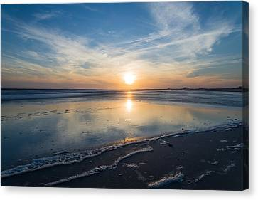 Sunny Disposition Canvas Print by Kristopher Schoenleber