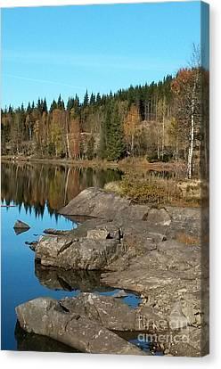 Sunny Fall Canvas Print