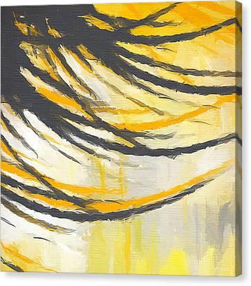 Sunny Field Canvas Print by Lourry Legarde