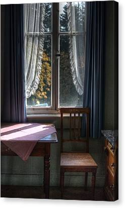 Sunny Hotel Morning  Canvas Print by Nathan Wright