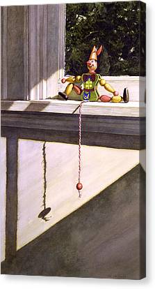 Sunny Side Canvas Print by Tom Wooldridge