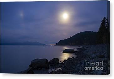 Sunnyside Moon Canvas Print