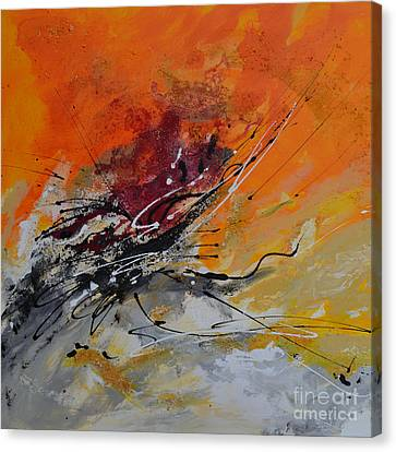 Sunrise - Abstract Canvas Print by Ismeta Gruenwald