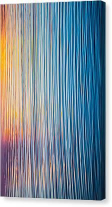 Sunrise Abstract #1 Canvas Print