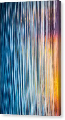 Sunrise Abstract #3 Canvas Print
