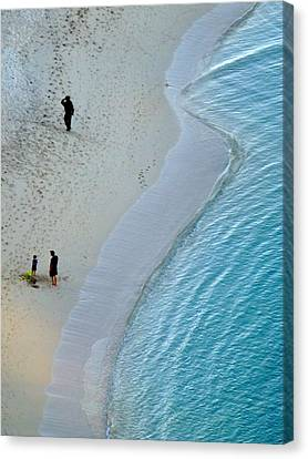 Sunrise Art Form Canvas Print