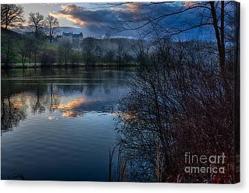 Sunrise At  Biltmore Estate Canvas Print