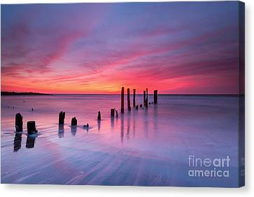 Sunrise At Deal Nj Canvas Print