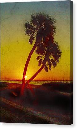 Sunrise At Fort De Soto Canvas Print