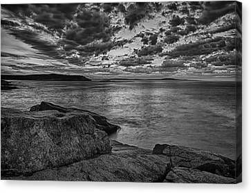 Sunrise At Monument Cove Canvas Print
