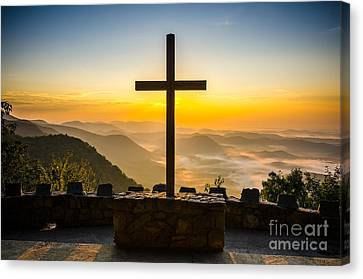 At The Center Of It All Canvas Print by Anthony Heflin