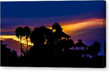 Sunrise Barefoot Mailman Park Canvas Print by Don Durfee