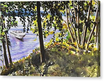 Sunrise Beach Canvas Print