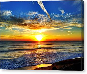 Sunrise Canvas Print by Carlos Avila