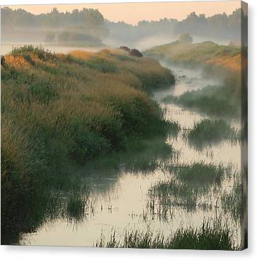 Sunrise Creek Canvas Print