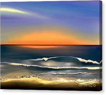 Sunrise Canvas Print by Dale   Ford