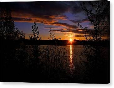 Sunrise Fairbanks Alaska Canvas Print