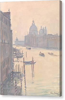 Sunrise From Accademia Bridge Canvas Print