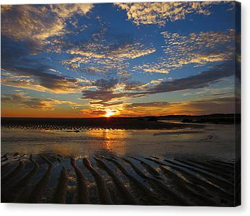 Canvas Print featuring the photograph Sunrise Glory by Dianne Cowen