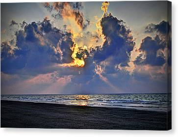 Sunrise... Hilton Head Island Canvas Print by Deborah Klubertanz