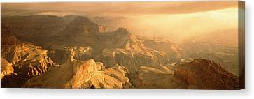 Sunrise Hopi Point Grand Canyon Canvas Print by Panoramic Images