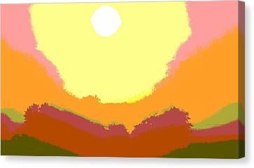 Sunrise Hue Canvas Print by Dan Sproul