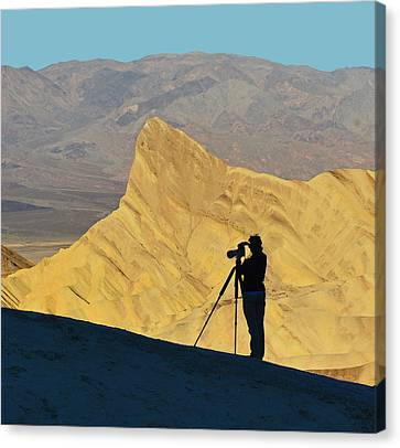 Canvas Print featuring the photograph The Photographer's Art by Dana Sohr