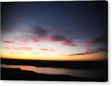 Sunrise In January Canvas Print by Carol Kinkead