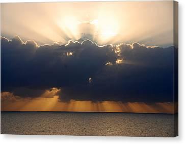 Sunrise Islamorada Canvas Print by John Schneider