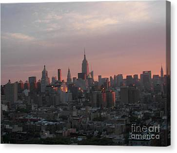Sunrise Canvas Print by James Dolan