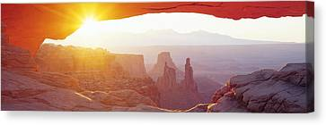 Orb Canvas Print - Sunrise Mesa, Canyonlands National Park by Panoramic Images